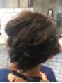 ショートヘアのセットスタイル