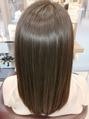 紫外線対策にも!髪質改善ヘアエステ