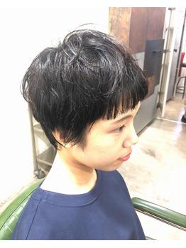 ミニボブ/ショートスタイル/ぱつっと前髪_20200216_1