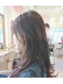 イロドリ ヘアーデザイン(IRODORI hair design)ロングのレイヤースタイルでスタイルチェンジ