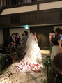 。・*結婚式*・。