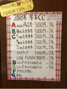 毎年恒例の運だめし★_20181201_1