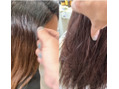 縮毛整形とカラー