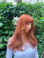 oguma hair /色落ちも可愛く!オレンジベージュカラー