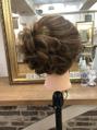 ジュニアスタイリスト練習モデルヘアセット