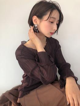 抜け感 ショート_20201110_1