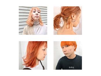 【篠塚】外国人風カラー オレンジ特集_20191122_1