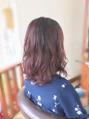 秋色ピンクパープル