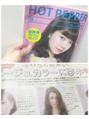 ミエルヘアーアンドスパ(miel hair&spa)今月のホットペッパー本誌特集に掲載されています☆