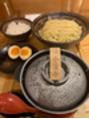 元祖めんたい煮込みつけ麺を食べてきました(笑)