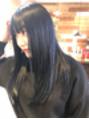 クリアーオブヘアー 池下店(clear OF HAIR)ブルーブラック