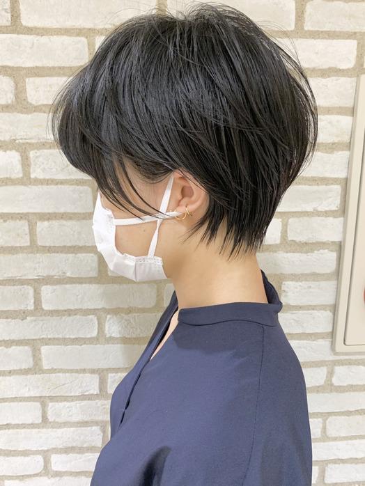 小顔に見えたいショートヘア☆☆_20200621_1