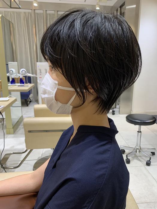 小顔に見えたいショートヘア☆☆_20200621_3
