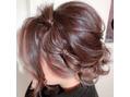 髪で飾るヘアスタイル!!