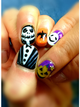 《Nail of this month ☆Halloween☆》    西巣鴨店_20161012_1