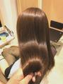 圧倒的、髪質改善縮毛矯正!