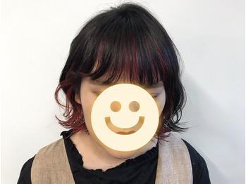 赤*インナーカラー《buzz bee 梅田》_20190914_2