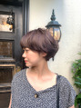 oguma hair /女性らしいフレンチショート
