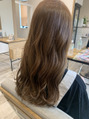 ヘアードットツミキ(HAIR.TSUMIKI)ブリーチなしの明るめカラー
