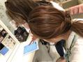 髪の診断機!?