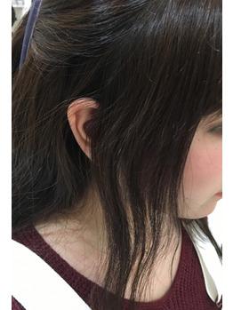 【前髪の縮毛矯正】下野市 自治医大 美容室 シェイプス(Shape's hair design)
