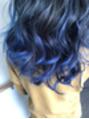 青のグラデーションカラー