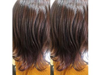 紫インナーカラー!_20200119_1