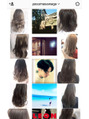 Instagramでヘアスタイルを配信しています☆