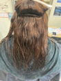 【吹田/美容室】うねり&広がるくせ毛に縮毛矯正♪