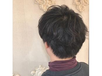 癖を生かしたパーマ風スタイル☆_20190120_1