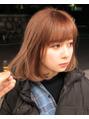 kazuyaが作るブリーチのベージュカラー