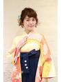 卒業式ヘアセット☆ショートver