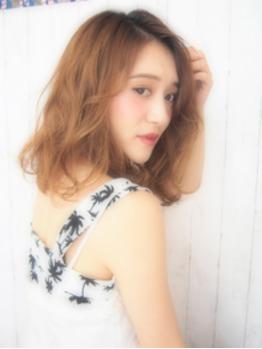 《saori》夏のハイトーンベージュ【Libera表参道】_20170708_2