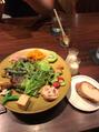 野菜たっぷりサラダランチ