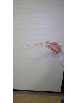 割り箸でオモチャ作り!『EPI EPI』_20200424_2