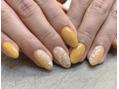 ★ yellow nail ★