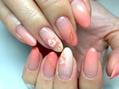 【定額5500円】淡いピンクが似合う季節になりました。