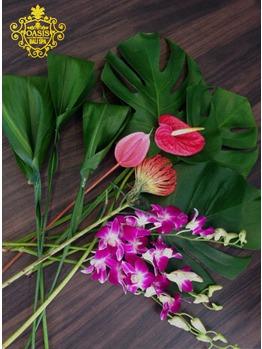 OPEN前の恒例!フラワーフットバスに使うお花を..♪_20150201_1