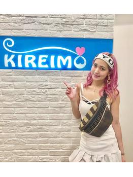 YumikaさんがKIREIMOにご来店くださいました♪_20190821_1
