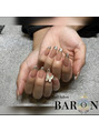 バロン(BARON)★お客様ネイル★