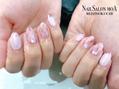 ピンク大理石×ミラー