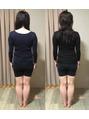 【痩身 経過のご報告】姿勢はホルモンバランスも影響!