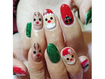 クリスマスネイル☆_20181204_1