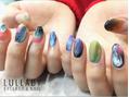 ララバイ 恵比寿店(LULLABY)colorful nail ☆ 7490円