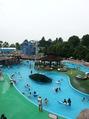 夏だっ!西日本一大きな野外プールに行ってきました!