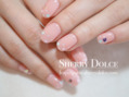 春らしいピンクネイル!