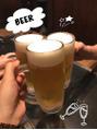 ビールがおいしい季節☆