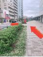 武蔵境駅から当店までの道順 1