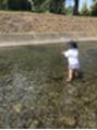 。・*川遊び*・。
