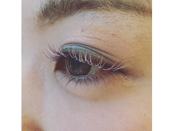 color eyelash!